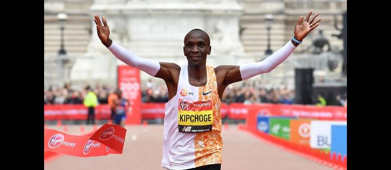 Marathon: Kipchoge va retenter de passer sous la barre des 2 heures